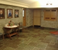 Church narthex is SCC's waiting area.