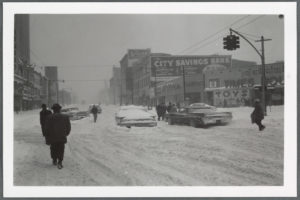 Flatbush Avenue and Lafayette, Brooklyn, N.Y. 1960